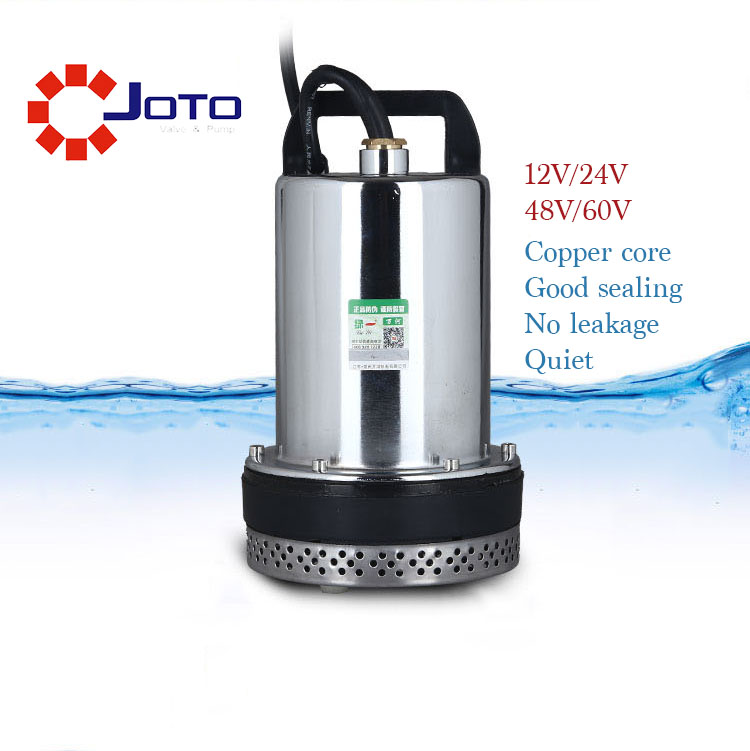 DC 60V Agricultural Irrigation DC Submersible Water Pump 220W Home Use Electrical Water Lift Pump Garden