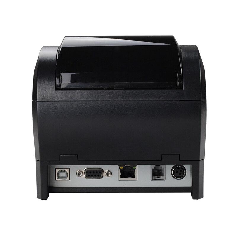 Высокое качество 80 мм Термальный чековый принтер автоматический резак банкнот принтер wifi/Bluetooth/USB/LAN/RS232 кухонный Ресторан POS принтер - 6