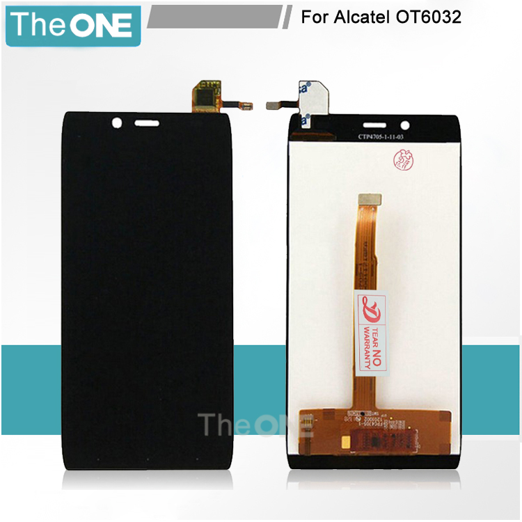 For Alcatel One Touch Idol Alpha OT6032 6032 LCD Display and Touch Screen Digitizer Assembly