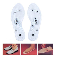 1Pair Magnetic Therapy Foot Insole Shoe Gel Insoles Feet Magnetic Therapy Health Care for Men Comfort Pads Foot Care Relaxation elino magnetic therapy massager insoles for men women promote blood circulation foot health care magnetoterap shoes insole