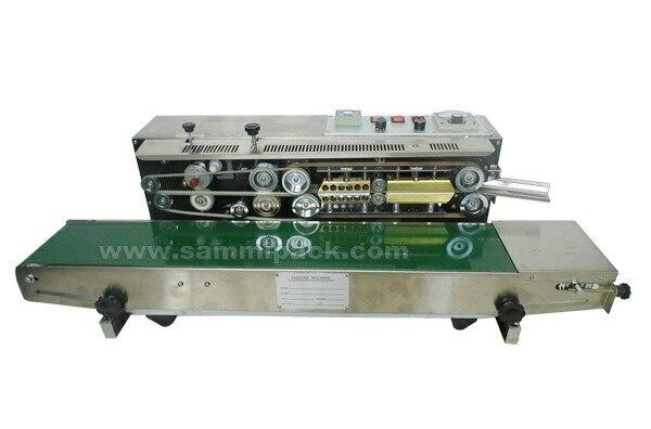 Горизонтальные Конвейерный запайщик, пластиковые плохой запайки с датой кодирования