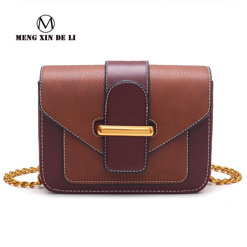 4524d4710c MENGXINDELI 2018 Γυναικεία τσάντα αγορών τσάντα αλυσίδα Totes ...