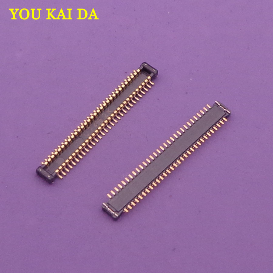2 100pcs/lot FPC Connector For Samsung Galaxy S6 G920 G920F LCD Display Screen Connector On Board For LCD Flex|connector f|connector fpc|connector samsung - title=