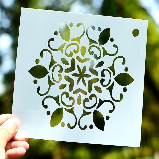 Diy Crafts Layering Stencil For Painting Sbooking Embossing Gift Paper Cards Template Tool