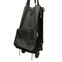 Дорожная сумка для хранения на колесах, складная тележка для супермаркета, домашняя сумка для хранения покупок, продуктовая корзина для покупок, буксир
