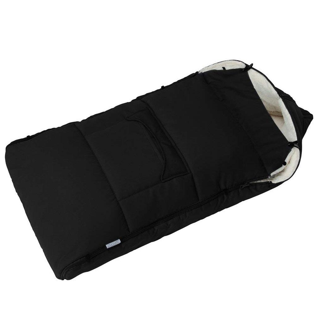 Image 2 - Детская коляска, спальный мешок, конверт для коляски, теплый толстый спальный мешок, универсальная муфта для ног, удобный фартук для коляски-in Спальники from Мать и ребенок