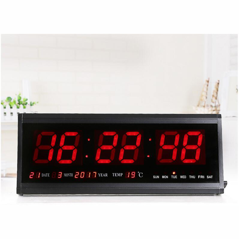 Aliexpresscom Buy LED Wall Clock Digital Calendar Watch with
