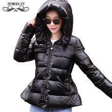2018 winter down coat women Fashion plus size female short down jacket Thick white duck down jacket abrigo mujer lj171 saiqi white duck down jacket for women light camping jacket female hiking coat short outerwear female outdoor brand top clothing