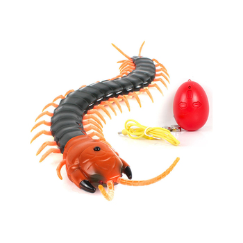 Novelty Fun Insect Toys Radio Infrared Remote Control Machine Bionic Centipede Animal Prank Funny Gadgets Children Gift