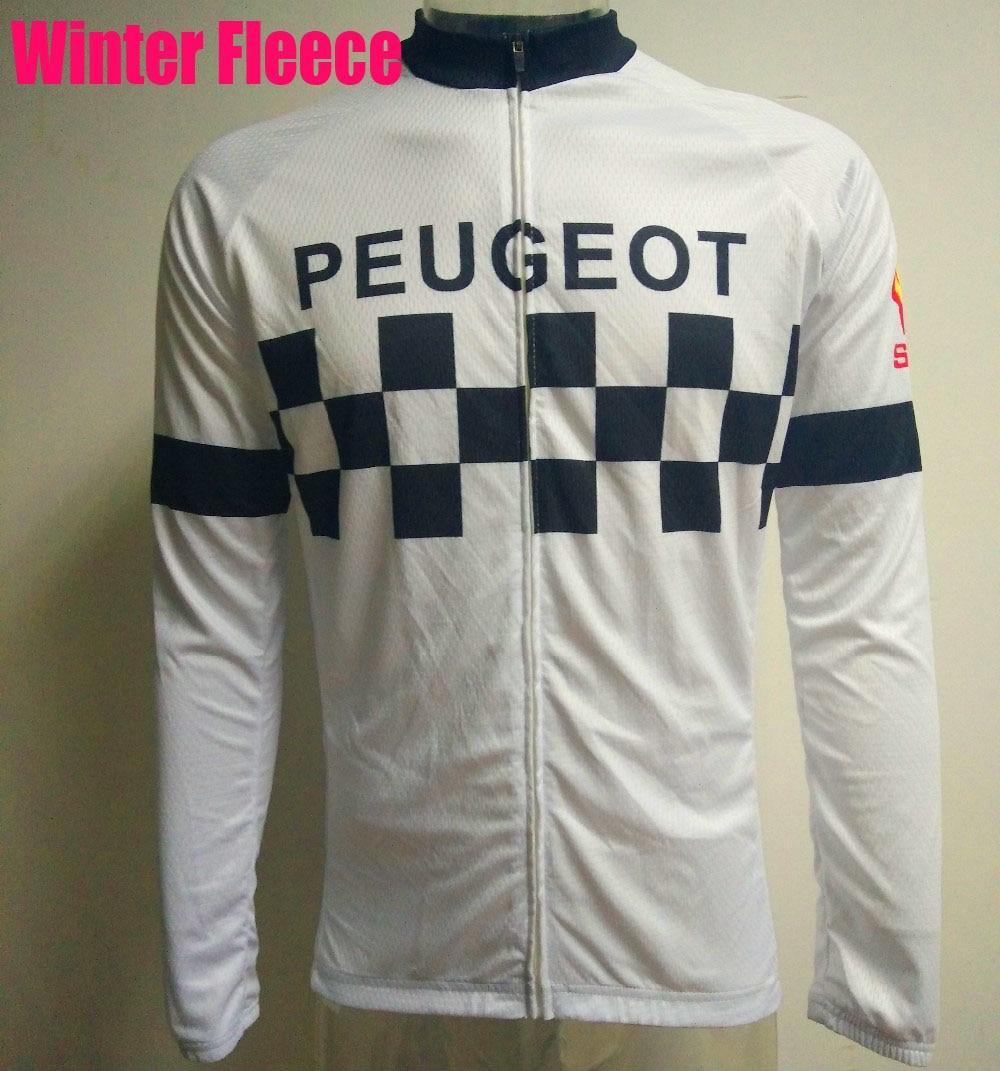 Цена за VEW мужчины белый с длинным рукавом велоспорт джерси Зима Руно & нет Руно/велоспорт одежда велосипед носить Произвольный выбор