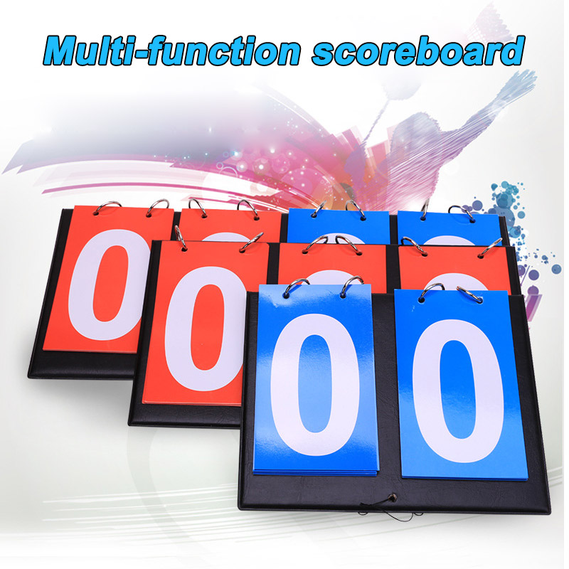 Newly Multi Digits Scoreboard Sports Scoreboards For Tennis Basketball Badminton Football BFE88