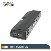 New Model !! Pocket Computer Thin Client X2 with Linux OS Dual Core Processor RDP7 Protocol for Classroom Call Center CBT Office