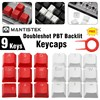 Universal DIY WASD Direction Keys Caps Double Color Injection Molding PBT Keycaps Key Caps for Keyboard with Keycaps Puller