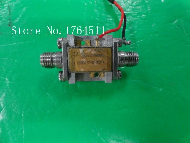 [BELLA] MITEQ CS00117-01 REVA 12V SMA Low Noise Amplifier