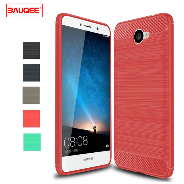 the best attitude a7d3a 17714 US $4.99 |BAUQEE for Huawei Ascend XT2 H1711 Case For Huawei Elate 4G Case  Boythink TPU Brushed TextureAnti Drop Soft Back Cover Rubber -in Fitted ...