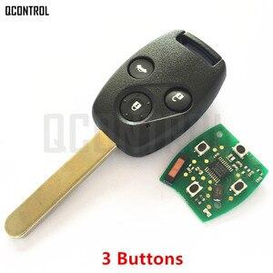 Image 3 - QCONTROL سيارة مفتاح بعيد دعوى لهوندا CE0891 HLIK 1T أكورد عنصر الطيار CR V صالح إنسايت مدينة جاز أوديسي فلييد 433 ميجا هرتز HR V