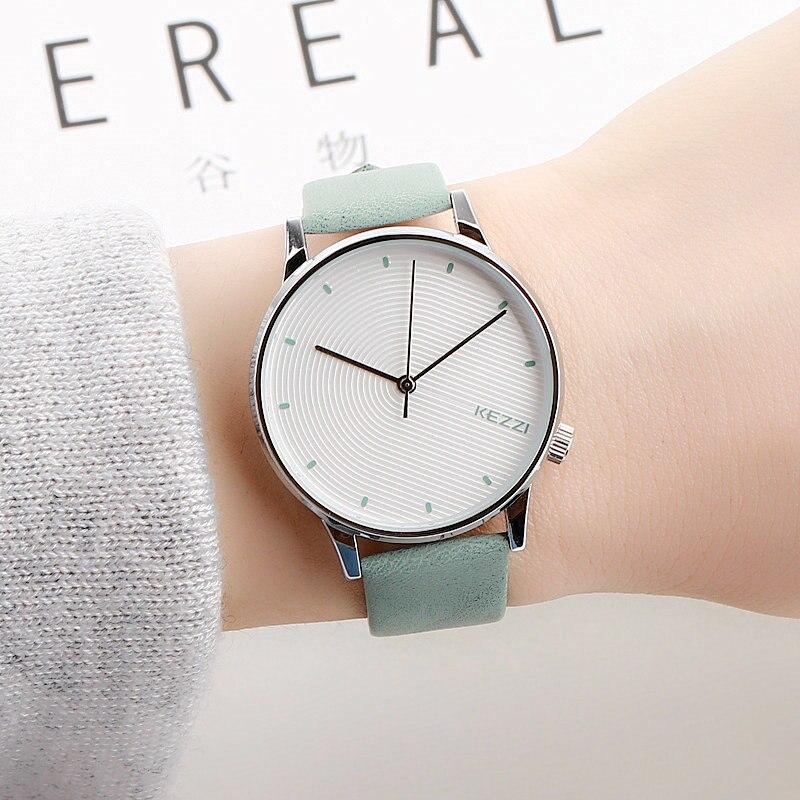 High Quality New Brand KEZZI Luxury Simple Dress Women Watches Fashion Creative Quartz Ladies Watch Female Lovers Wrist Watch
