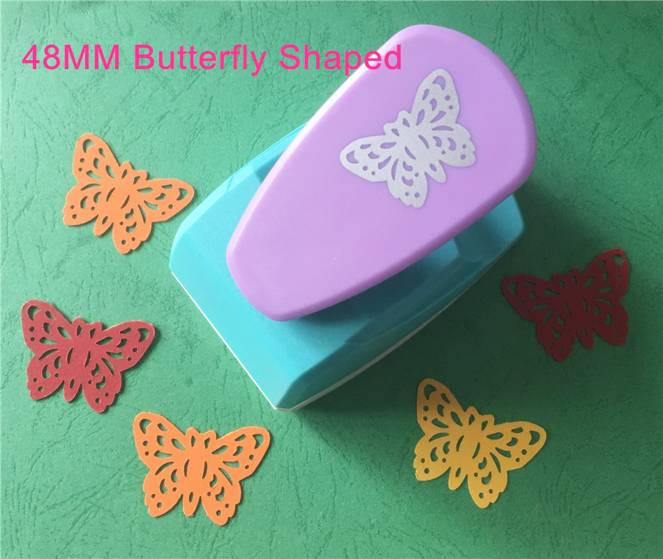 Free shipping large size 48mm butterfly shaped punch craft for Craft punches for sale