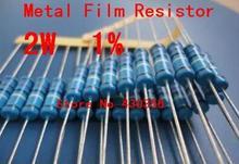 20 штук 2 Вт металла Плёнки резистор +-1% 2 Вт 9k1 Ом 9.1 К ccccc
