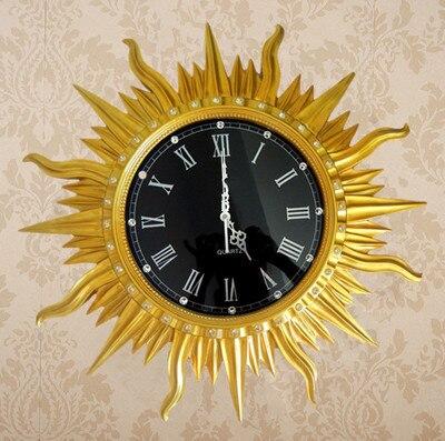Orologio da parete moda Vintage mestieri della resina diamante orologio acquietare orologio di lusso