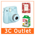 Fujilfilm instantánea Mini 8 cámara Fuji Instax Twin Pack Film 64 hoja marco de fotos