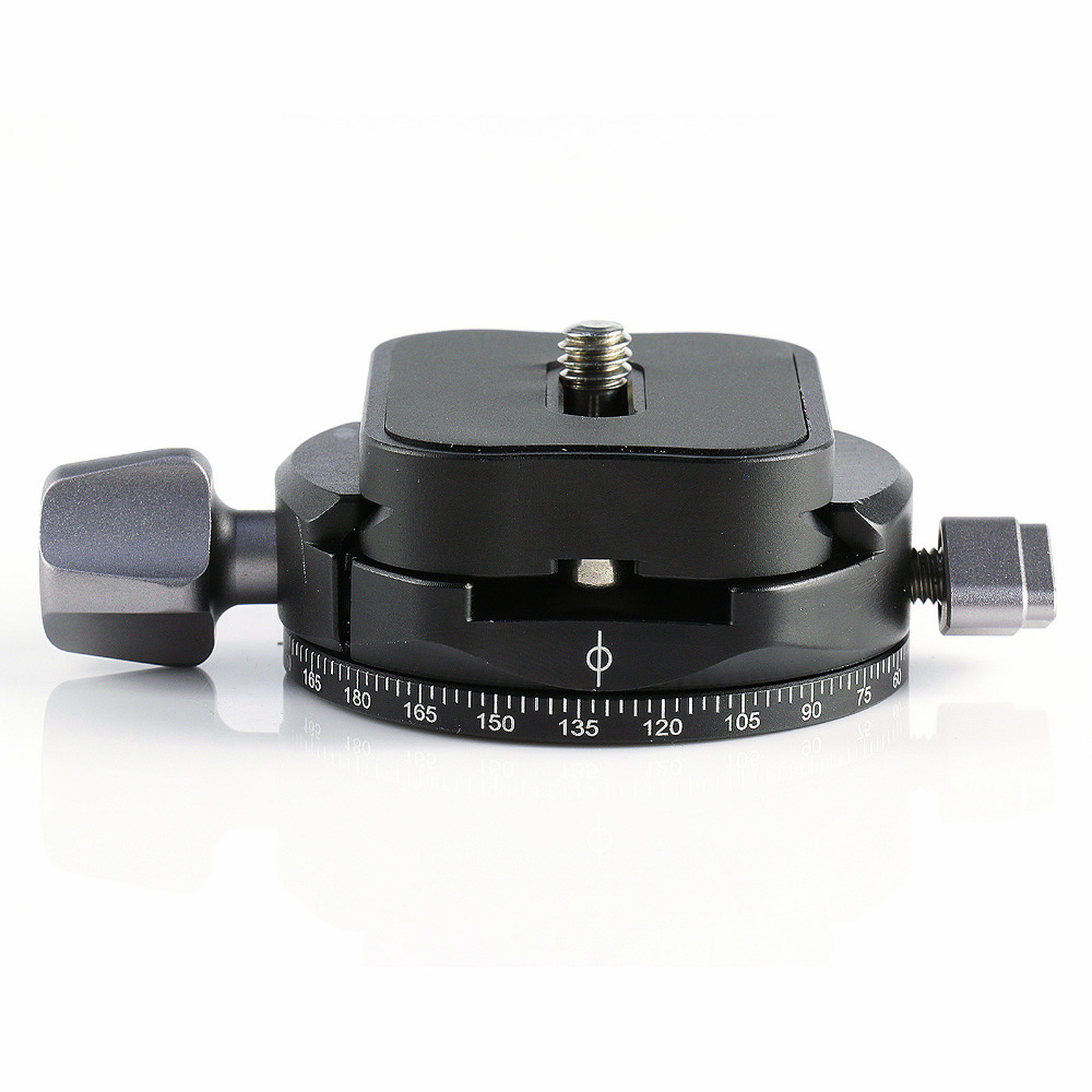 X-36 360 Rotate Camera Ball Head With Quick Release Plate For DSLR Camera And Tripod grey free shipping