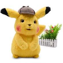 2019 Movie & TV Anime Cartoon Detective Pikachu Mr.Mime Plush Peluche Stuffed Dolls kawaii Toy Great Christmas Gift For Children