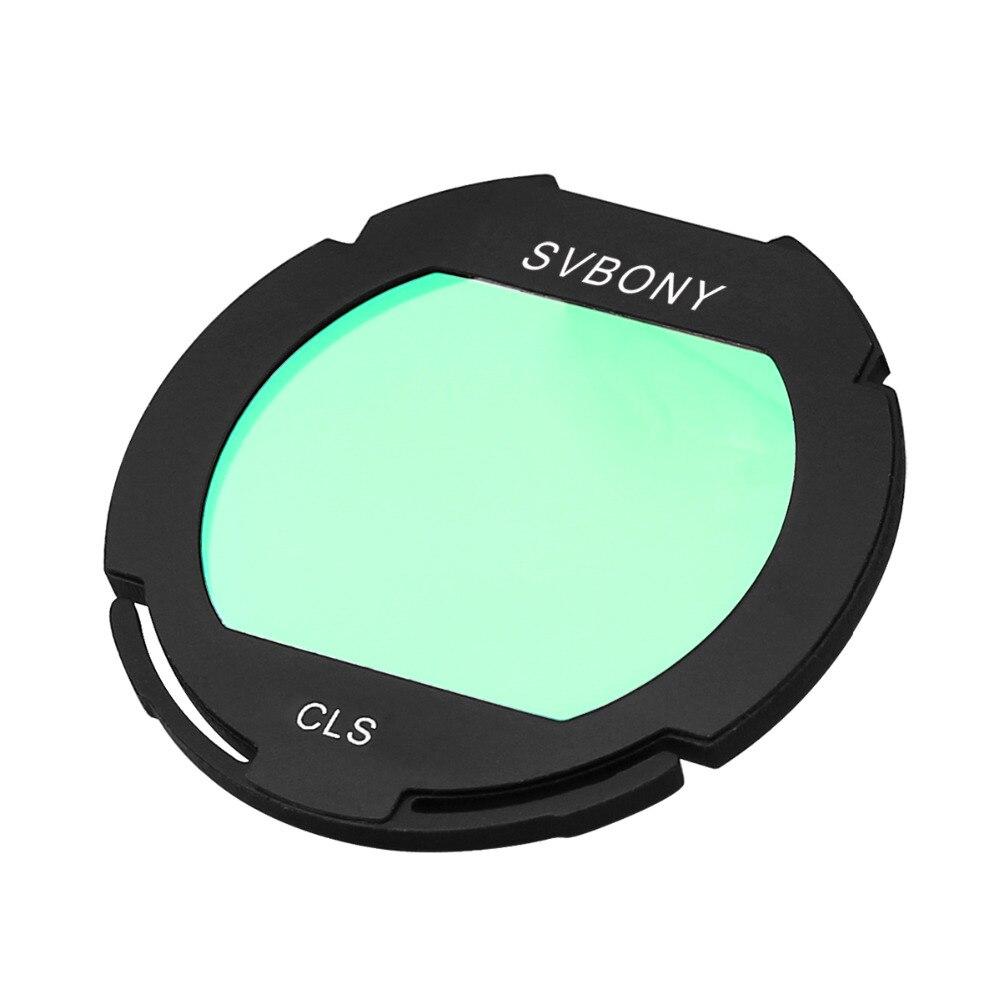 Svbony Filtre CLS Deepsky Clip-sur EOS Clip Haut Débit Caméra pour Caméras CCD et DSL L'astrophotographie Monoculaire Télescope F9155D