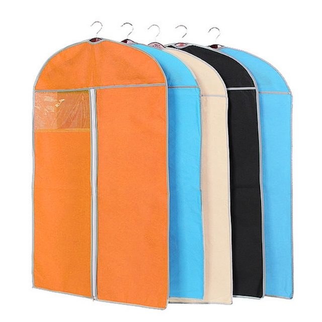 Storage Bag Case For Clothes Organizer Garment Suit Coat Dust Cover Protector Wardrobe Storage Bag For Clothes 3 Sizes
