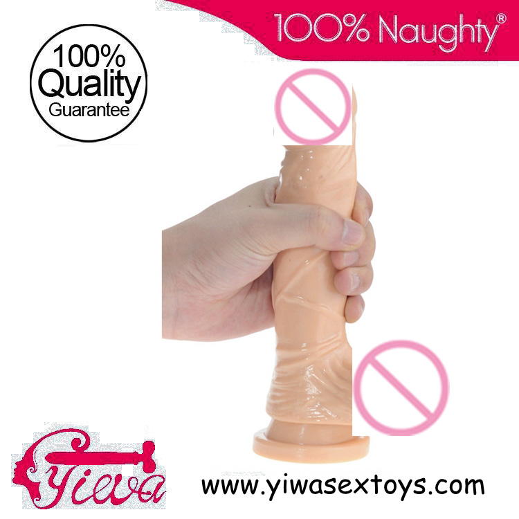 Buy Sex excitement products women,8 Inches realistic dildos Suction-cup base,artificial penis woman,squirting dildo
