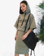 Crop Top And Skirt Set New Arrival Direct Selling Cotton Pattern Europe And The 2017 Fashion Casual Street Girl Wind Lady Suit