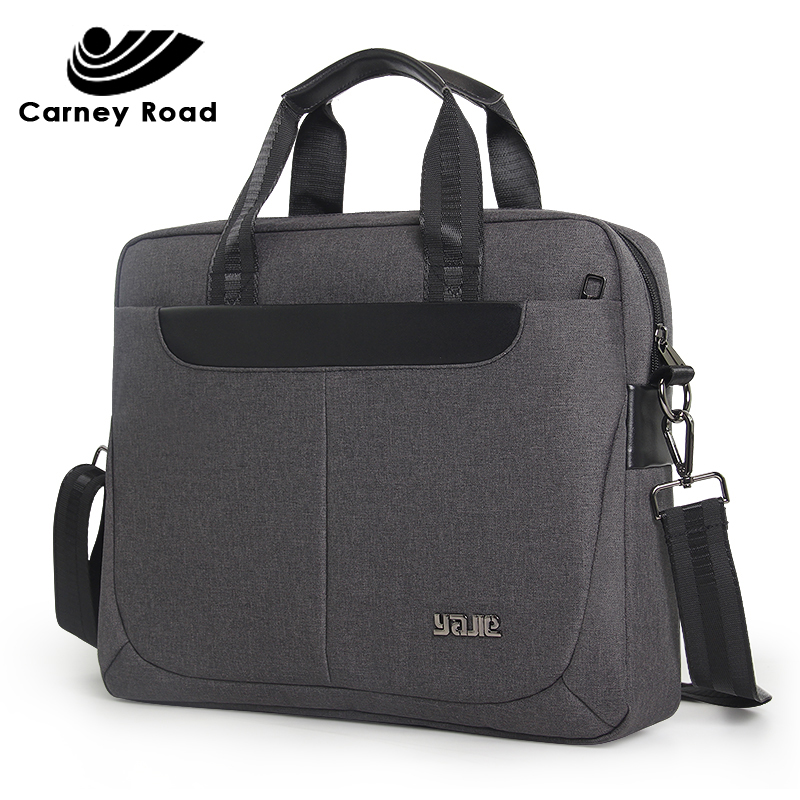 Business Men Briefcase 14 Inch Laptop Handbag Casual Men & Women Messenger Bag Business Tote For Document Office Bag Portable