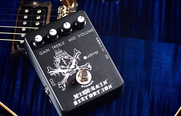 Joyo JF-04 High Gain Distortion Guitar Effect Pedal with Free Pedal Case joyo jf 13 ac tone guitar effect pedal with free pedal case