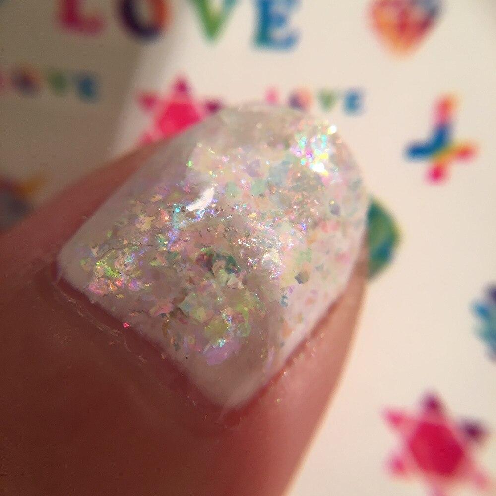 Płatki wielorazowe Płatki holograficzne UNICORN Płatki - Sztuka zdobienia paznokci - Zdjęcie 4