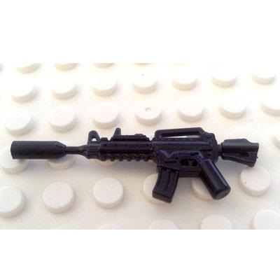 M4A1 and silencer Original Blocks Educational Toys Swat Police Military Weapons Gun Model City Accessories Lepin Mini figures