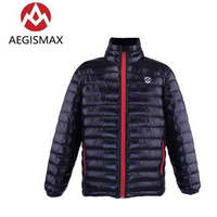 AEGISMAX Unisex Ultra Light 800FP White Goose Down Keep Warm Outdoor Camping Autumn Winter Down Jacket