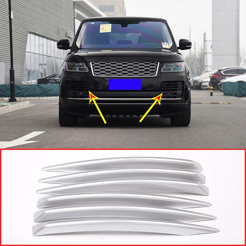 Silver Side Vent Grille for Land Rover Range Rover L405 2013-2017 Trim Moulding