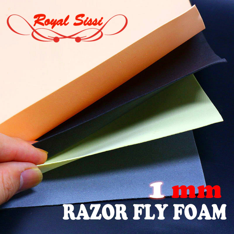 """Foam Wing material   8-4""""x 5"""" Sheets Per Package Fly Tying Materials"""