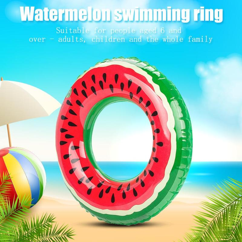 Outdoor Watermelon Swimming Ring Inflatable Pool Float Circle Inflatable Pool Float Circle For Adult Kid Hot Sale 2019