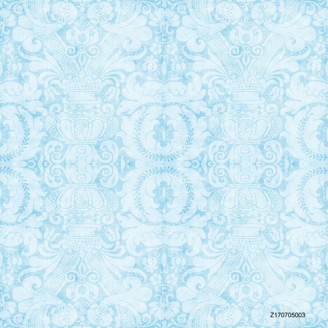 LIFE MAGIC BOX Seamless Wrinkle Free Washable Light Blue Background