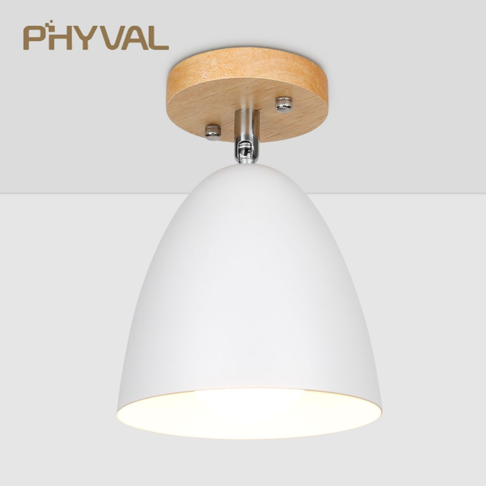 Nordic LED Ceiling Light Modern Simple Ceiling Lamp For Living Room Bedroom Study Decoration Fixtures Kitchen Ceiling Lighting