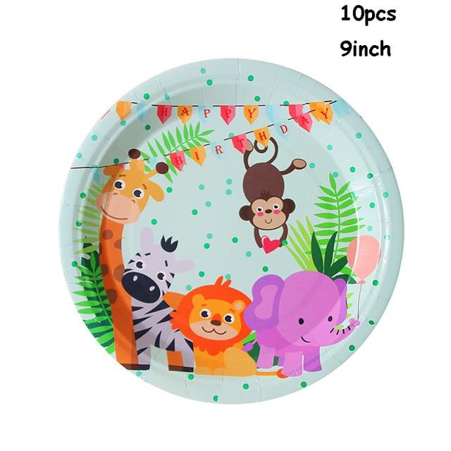 10pcs paper plate