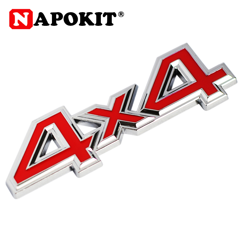 1Pc Metal 3D 4x4 Auto Car Sticker 4 Drive Emblem Badge for JEEP Patriot Wrangler Grand Cherokee Compass for Prado Car Styling-in Car Stickers from Automobiles & Motorcycles