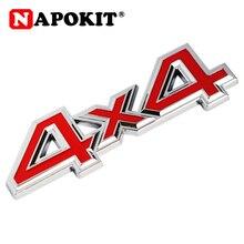 1Pc Metal 3D 4x4 Auto Car Sticker 4 Drive Emblem Badge for JEEP Patriot Wrangler Grand Cherokee Compass for Prado Car Styling