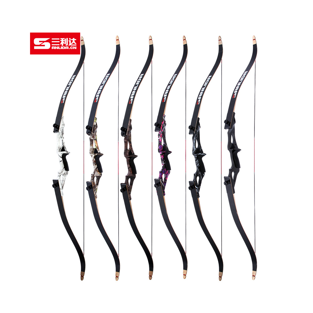 JANDAO Archery Recurve Bow Takedown for Outdoor font b Hunting b font Shooting Training Metal Riser