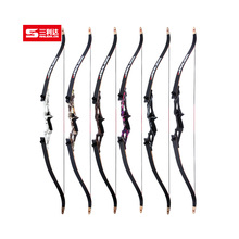 JANDAO Archery Recurve Bow Takedown for Outdoor Hunting Shooting Training Metal Riser SLD-ZRLG