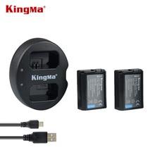 KingMa Двойной (двойной) зарядное устройство Для Sony NP-FW50 Батареи Альфа 7 7R a7 a7R 7 S a7S a5000 a6000 a3000 A6300 A6500 NEX-3 NEX-5 NEX-3 Н