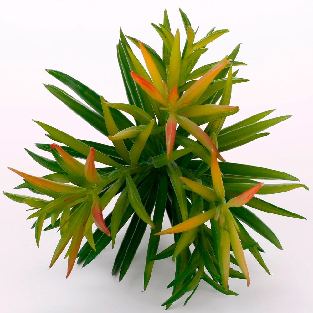 Dianthus artificial plantas verdes suculentas artificiales plantas de - Para fiestas y celebraciones - foto 1
