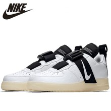 Nike Air Force1 Utility QS Original  Men Skateboarding Shoes Original Comfortable Shock-Absorbant Sneakers #AV6247-100 цена