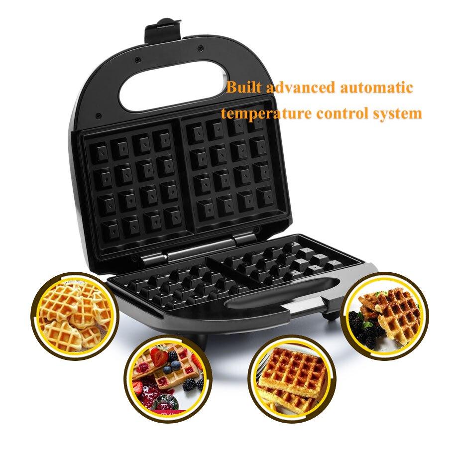 Multifuncional waffle Maker para Home máquina panecillo para la ...
